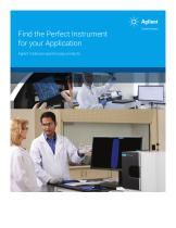 Find the Perfect Instrument for your Application Agilent molecular spectroscopy products - 1