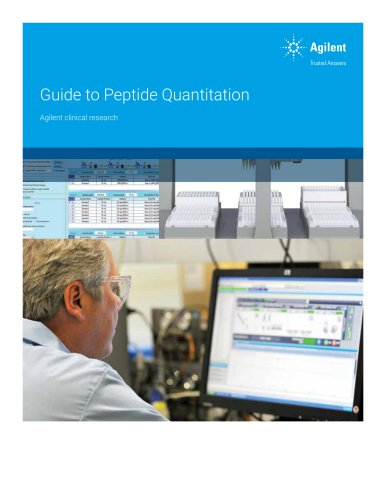 Guide to Peptide Quantitation