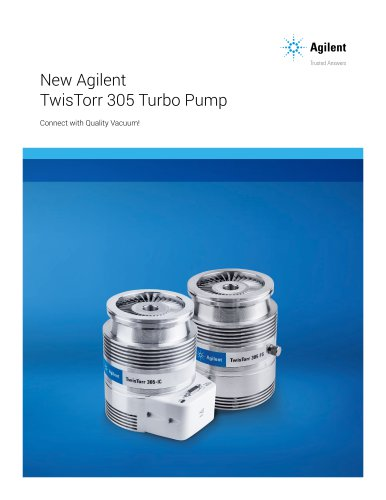 New Agilent TwisTorr 305 Turbo Pump