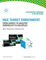 NGS Target Enrichment Brochure - SureSelect and HaloPlex - 1