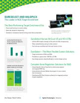 NGS Target Enrichment Brochure - SureSelect and HaloPlex - 2