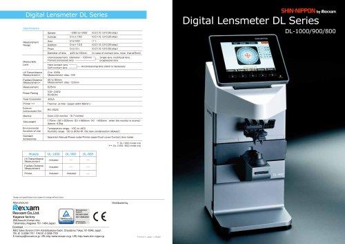 DL-1000/DL-900/DL-800