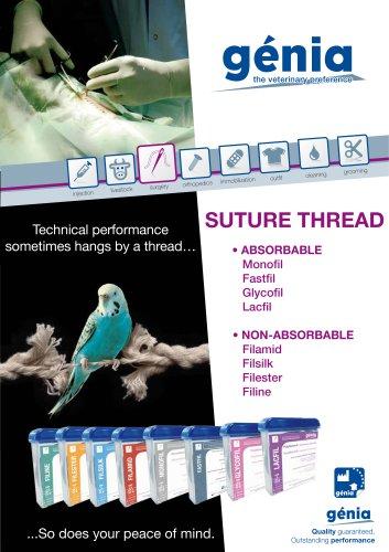 Suture thread