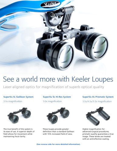 Surgical Loupes and Lights Flyer