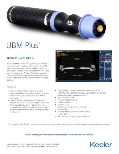 UBM Plus Flyer