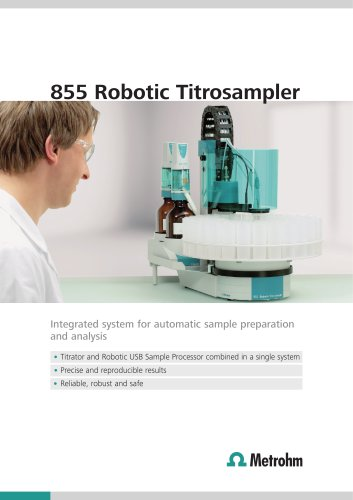 855 Robotic Titrosampler