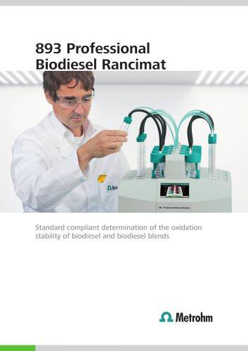 893 Professional Biodiesel Rancimat
