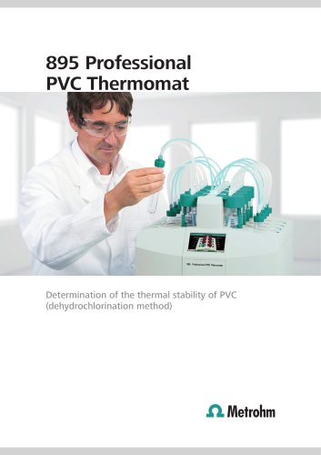 895 Professional PVC Thermomat - Determination of the thermostability of PVC