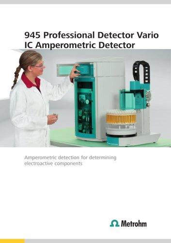 945 Professional Detector Vario IC Amperometric Detector
