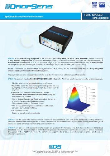Spectroelectrochemical Instrument