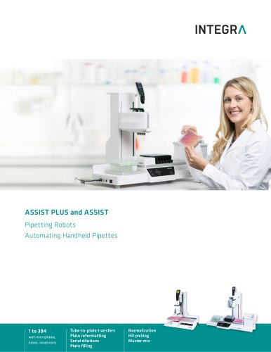 FLYER ASSIST PLUS AND ASSIST - PIPETTING ROBOTS