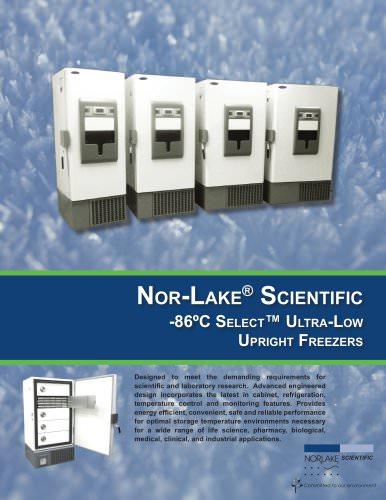 86ºC Select Ultra Low Freezers