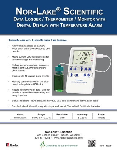 DigitaL DispLay with Temperature Alarm