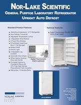 General Purpose Laboratory Refrigerator Upright Auto Defrost