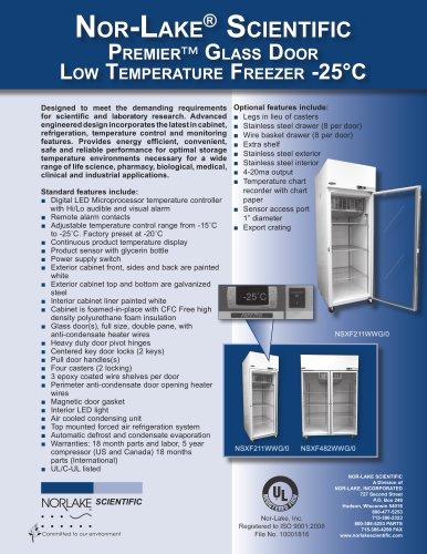 Low Temperature Freezer -25°C