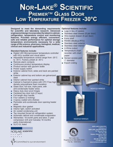 Low Temperature Freezer -30°C