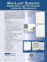 Undercounter and Free Standing Laboratory Refrigerator