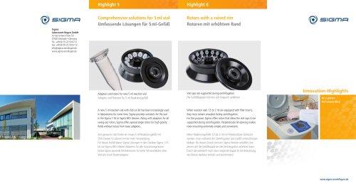 SIGMA Innovation Highlights