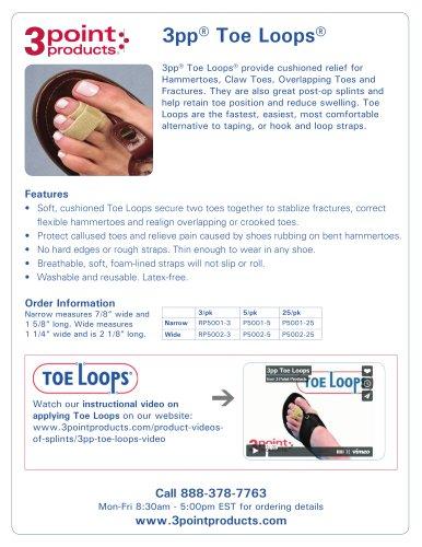 3pp Toe Loops