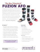 The New Standard! FUZION ™  AFO