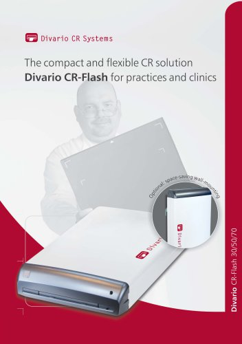 The compact and flexible CR solution Divario CR-Flash for practices and clinics