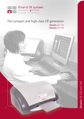 The compact and high-class CR generation Divario CR 125 Divario CR 145