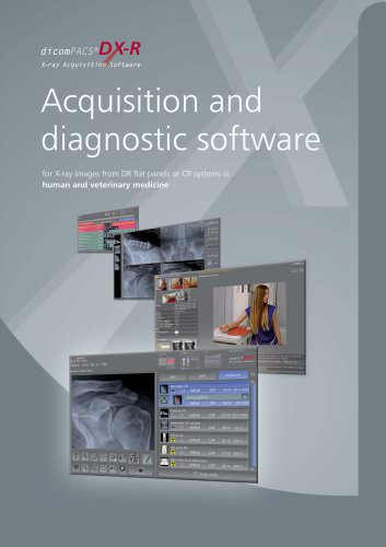 Dicompacs Dx R Acquisition And Diagnostic Software Or Technology Oehm Und Rehbein Pdf Catalogs Technical Documentation