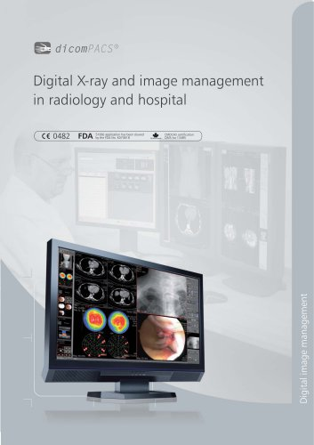 Digital X-ray and image management in radiology and hospital