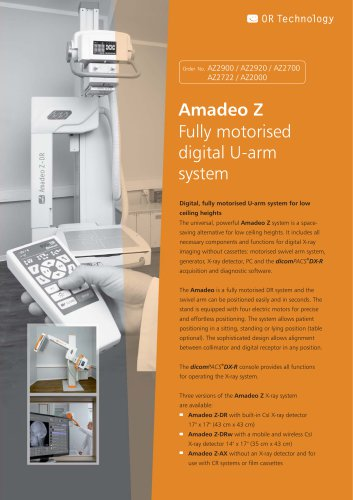 Product information motorised U-arm X-ray system Amadeo Z_human_EN.pdf.png images/icons/download.png  Product information motorised U-arm X-ray system Amadeo Z