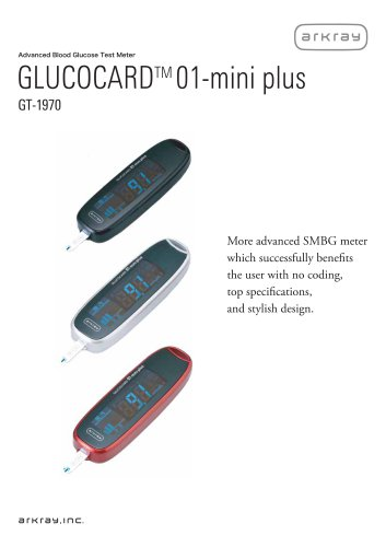 GLUCOCARD 01-mini plus