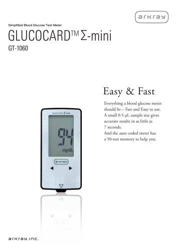 GLUCOCARD ?-mini