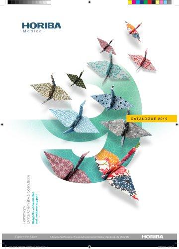 HORIBA Medical Catalogue 2019
