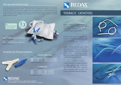 Thoracic Catheters