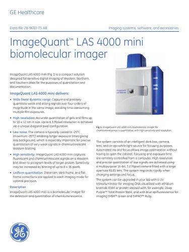 ImageQuant LAS 4000 mini data file
