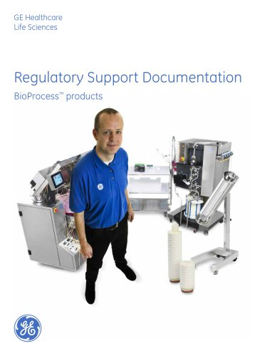 Regulatory Support Documentation for BioProcess products