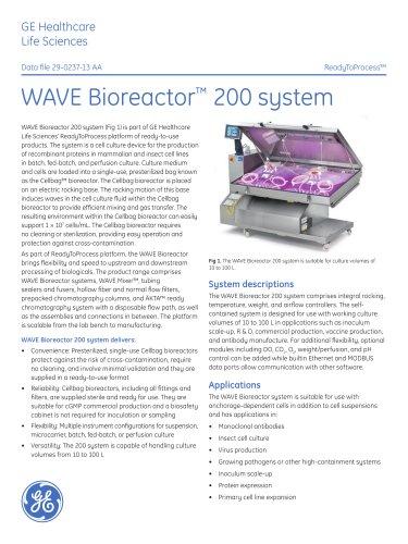 WAVE Bioreactor 200 System