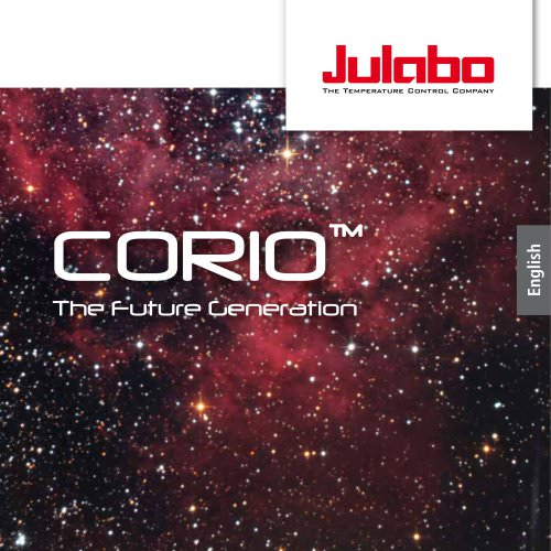 JULABO CORIO Laboratory Circulators Brochure