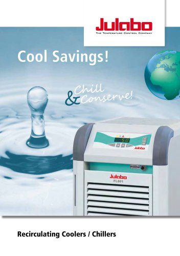 JULABO FL/F Recirculating Cooler/Chiller - Cool Savings