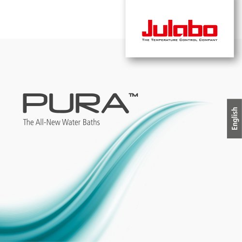 JULABO PURA Water Baths