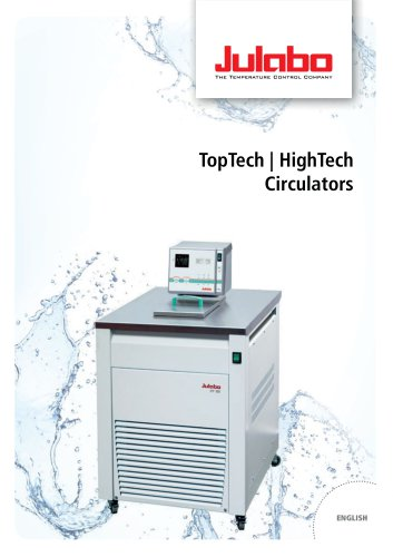 JULABO TopTech and HighTech Circulators