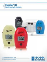 CHECKERS Handheld Colorimeter