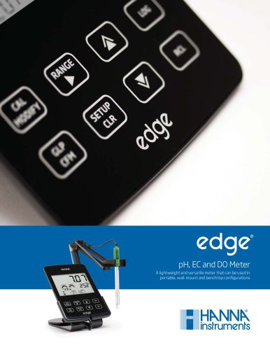 edge pH EC DO Brochure