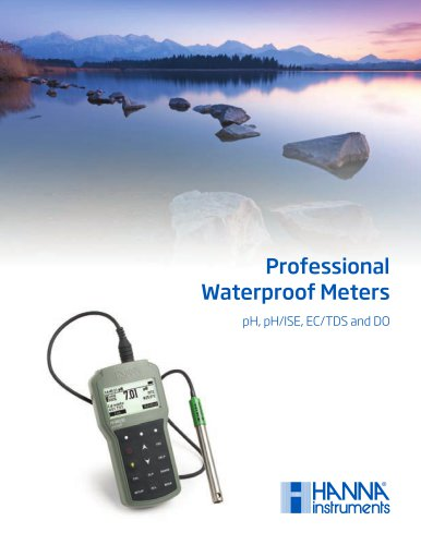 Professional Waterproof Meters