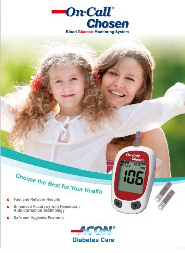 Glucose Meters / On Call® Chosen brochure
