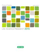 Bio-Rad Life Science Research 2015 Product Catalog