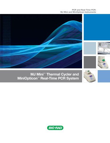 MJ Mini Thermal Cycler and MiniOpticon Real-Time PCR System