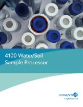 4100 Water/Soil Sample Processor
