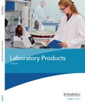 Laboratory Products Catalog 2012