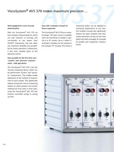ViscoSystem® AVS 370