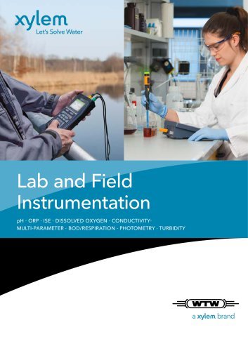 WTW Lab and ield Instrumentation